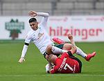 FussballFussball: agnph001:  1. Bundesliga Saison 2019/2020 27. Spieltag 23.05.2020<br />SC Freiburg - SV Werder Bremen<br />Pilot Rashica (Bremen oben) gegen Jonathan Schmid (Freiburg)<br />FOTO: Markus Ulmer/Pressefoto Ulmer/ /Pool/gumzmedia/nordphoto<br /><br />Nur fŸr journalistische Zwecke! Only for editorial use! <br />No commercial usage!