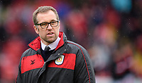 Crewe Alexandra manager David Artell during the pre-match warm-up<br /> <br /> Photographer Chris Vaughan/CameraSport<br /> <br /> The EFL Sky Bet League Two - Lincoln City v Crewe Alexandra - Saturday 6th October 2018 - Sincil Bank - Lincoln<br /> <br /> World Copyright &copy; 2018 CameraSport. All rights reserved. 43 Linden Ave. Countesthorpe. Leicester. England. LE8 5PG - Tel: +44 (0) 116 277 4147 - admin@camerasport.com - www.camerasport.com
