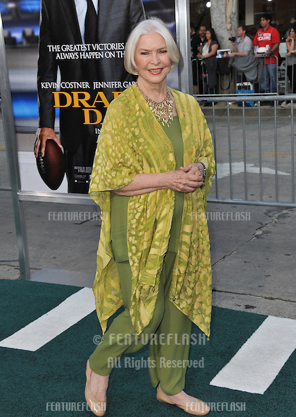 Ellen Burstyn at the Los Angeles premiere of her movie &quot;Draft Day&quot; at the Regency Village Theatre, Westwood.<br /> April 7, 2014  Los Angeles, CA<br /> Picture: Paul Smith / Featureflash