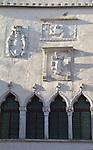 Slovenia, Koper, Cevljarska ul, Praetorian Palace, Venetian era, architecture, Istria, Istrian coast, Adriatic Sea, Europe,
