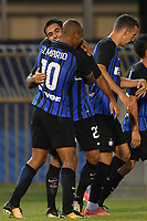 Esultanza Gol Martin Eder Inter, Joao Mario Goal celebration <br /> San Benedetto del Tronto 06-08-2017 <br /> Football Friendly Match  <br /> Inter - Villarreal Foto Andrea Staccioli Insidefoto
