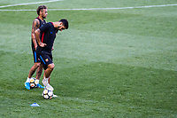 HARRISON, EUA, 21.07.2017 - BARCELONA-JUVENTUS - Neymar Jr. e Lionel Messi jogadores do Barcelona durante treino um dia antes da partida contra a Juventus pela International Champions Cup na Red Bull Arena na cidade de Harrison nos Estados Unidos nesta sexta-feira, 21. (Foto: William Volcov/Brazil Photo Press)