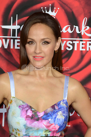 PASADENA. CA - JANUARY 14: Crystal Lowe at the Hallmark Winter 2017 TCA Event at Tournament House in Pasadena, California on January 14, 2017. Credit: David Edwards/MediaPunch