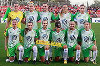 VfL Wolfsburg's team photo during UEFA Womens Champions League 2017/2018, 1/16 Final, 1st match. October 4,2017. (ALTERPHOTOS/Acero) /NortePhoto.com /NortePhoto.com