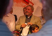 SÃO JOSE DOS PINHAIS, PR, 14.03.2014 - POLITICA / ENCONTRO ESTADUAL  - O ex-presidente Luiz Inácio Lula da Silva  participa na tarde desta sexta-feira (14),em São josé dos Pinhaisa,região metropolitana de Curitiba, do Encontro Estadual com a senadora Gleisi Hoffmann, pré-candidata ao governo do Paraná. O evento acontece no Buffet Imperial, em São José dos Pinhais. Também estão presentes o ministro das Comunicações, Paulo Bernardo, deputados federais, deputados estaduais, prefeitos, vices, vereadores e lideranças políticas do PT e partidos aliados, de todas as regiões do Paraná .  (Foto: Paulo Lisboa / Brazil Photo Press)