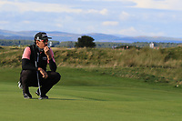 Rafa Cabrera Bello (ESP) on the 17th green during Round 3 of the Alfred Dunhill Links Championship 2019 at St. Andrews Golf CLub, Fife, Scotland. 28/09/2019.<br /> Picture Thos Caffrey / Golffile.ie<br /> <br /> All photo usage must carry mandatory copyright credit (© Golffile | Thos Caffrey)