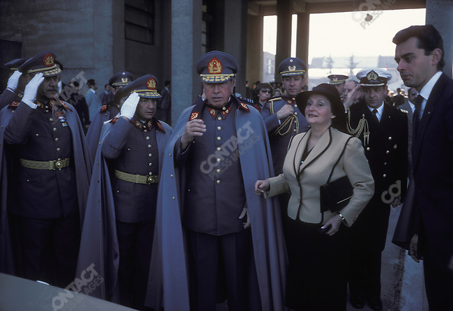 General Augusto PINOCHET, Santiago, Chile, September 1983.