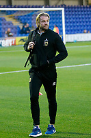 Milton Keynes Dons manager, Robbie Nelson seen prior to the Sky Bet League 1 match between AFC Wimbledon and MK Dons at the Cherry Red Records Stadium, Kingston, England on 22 September 2017. Photo by Carlton Myrie / PRiME Media Images.