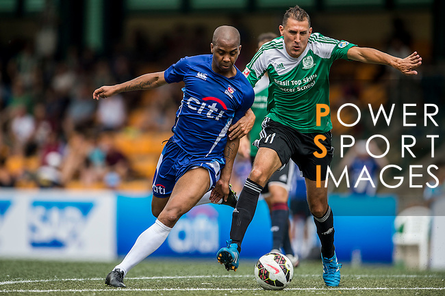 USRC - BTS vs Citibank All Stars during their Masters Cup Semi-Final match as part of day three of the HKFC Citibank Soccer Sevens 2015 on May 31, 2015 at the Hong Kong Football Club in Hong Kong, China. Photo by Xaume Olleros / Power Sport Images