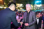 Michael Douglas during the Opening Ceremony of the the World Celebrity Pro-Am 2016 Mission Hills China Golf Tournament on 20 October 2016, in Haikou, China. Photo by Weixiang Lim / Power Sport Images