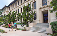 Johnson Hall and the McKinnon Center for Global Affairs on the campus of Occidental College in Los Angeles, April 25, 2014.<br />