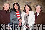 Sweet music<br /> --------------<br /> enjoying the 'Men of Music' concert in Siamsa Tire last Friday evening were L-R Jan Walanski,Elizebeth Trautmann,Agnes Heaphy&amp;Jimmy Hickey.