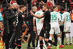 17.03.2019, BayArena, Leverkusen, GER, 1. FBL, Bayer 04 Leverkusen vs. SV Werder Bremen,<br />  <br /> DFL regulations prohibit any use of photographs as image sequences and/or quasi-video<br /> <br /> im Bild / picture shows: <br /> Leverkusen wechselt Lars Bender (Leverkusen #8), gegen Mitchell Weiser (Leverkusen #23), <br /> <br /> Foto © nordphoto / Meuter