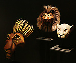 'The Lion King' at Curtain Up: Celebrating the Last 40 Years of Theatre in New York and London Exhibition on June 14, 2017 at the New York Public Library for the Performing Arts at Lincoln Center.