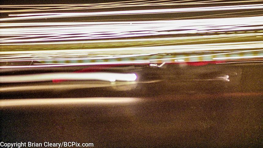 Night action, 1978 24 Hours of Daytona, Daytona International Speedway, Daytona Beach, FL, February 5, 1978.  (Photo by Brian Cleary/www.bcpix.com)