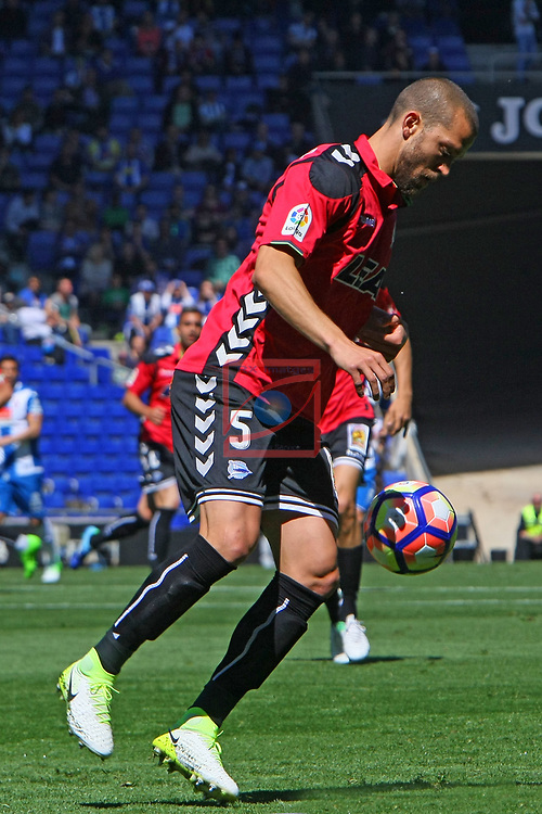 League Santander 2016/2017. Game: 31.<br /> RCD Espanyol vs Deportivo Alaves: 1-0.<br /> Laguardia.