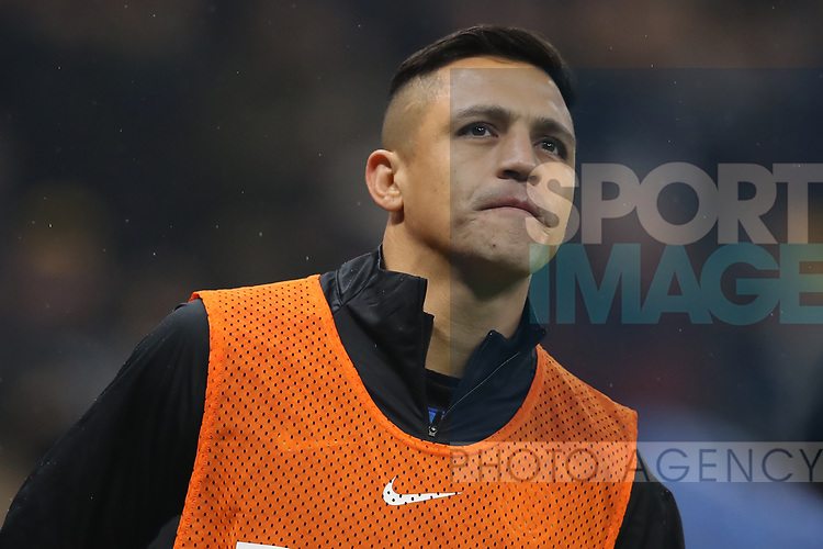 Alexis Sanchez of Inter during the Serie A match at Giuseppe Meazza, Milan. Picture date: 9th February 2020. Picture credit should read: Jonathan Moscrop/Sportimage