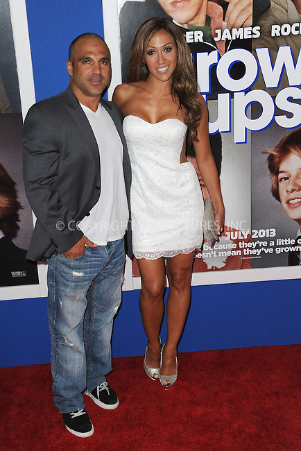 WWW.ACEPIXS.COM<br /> July 10, 2013...New York City <br /> <br /> Joe Gorga and Melissa Gorga attending the Columbia Pictures New York Screening of &quot;Grown Ups 2&quot;  at AMC Loews Lincoln Square on July 10, 2013 in New York City.<br /> <br /> Please byline: Kristin Callahan... ACE<br /> Ace Pictures, Inc: ..tel: (212) 243 8787 or (646) 769 0430..e-mail: info@acepixs.com..web: http://www.acepixs.com