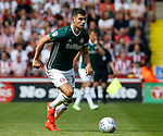 John Egan of Brentford during the English Championship League match at Bramall Lane Stadium, Sheffield. Picture date: August 5th 2017. Pic credit should read: Simon Bellis/Sportimage