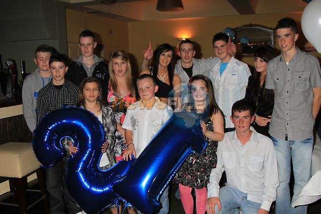 Darren Molloy 21th Birthday in the Star & Crescent..Picture Fran Caffrey/www.newsfile.ie.