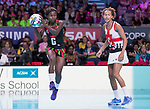 Fast5 2017<br /> Fast 5 Netball World Series<br /> Hisense Arena Melbourne<br /> Match <br /> England v Malawi<br /> <br /> Martha Dambo<br /> <br /> <br /> Photo: Grant Treeby