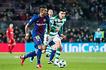 Jose Paulo Bezerra Maciel Junior, Paulinho, of FC Barcelona in action during the UEFA Champions League 2017-18 match between FC Barcelona and Sporting CP at Camp Nou on 05 December 2017 in Barcelona, Spain. Photo by Vicens Gimenez / Power Sport Images