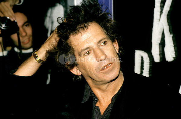Keith Richards pictured in 1992. © Scott Weiner /MediaPunch.