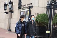 NOVA YORK, EUA, 10.03.2020 - CORONA-VIRUS - Movimentação na Universidade de Colombia em Nova York durante crise de Corona Virus Covid-19 nos Estados Unidos. (Foto: Vanessa Carvalho/Brazil Photo Press)