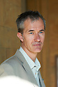 Geoff Dyer,writer of Jeff in Venice,Death in Varanasi at The Oxford Literary Festival 2011 in Christchurch,  Oxford UK. CREDIT Geraint Lewis