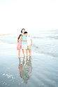 Somaly and Kids Beach Session
