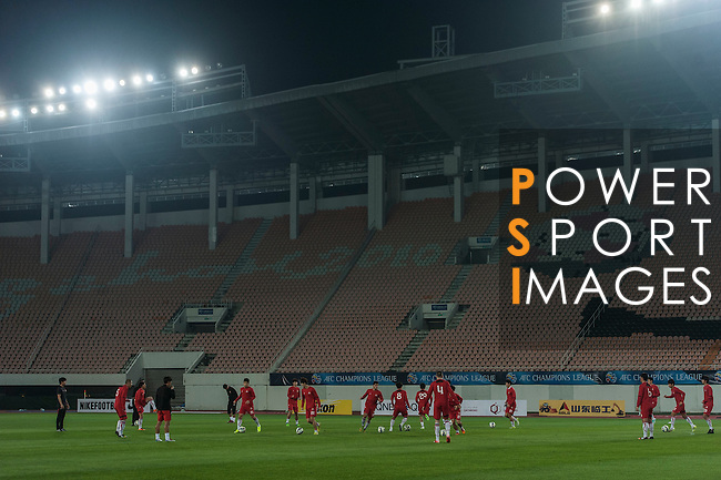 FC Seoul during the official training ahead of the AFC Champions League Group H Group Stage between Guangzhou Evergrande and FC Seoul at  Guangzhou Tianhe Sport Center on 24 February 2015 in Guangzhou, China. Photo by Xaume OIleros / Power Sport Images