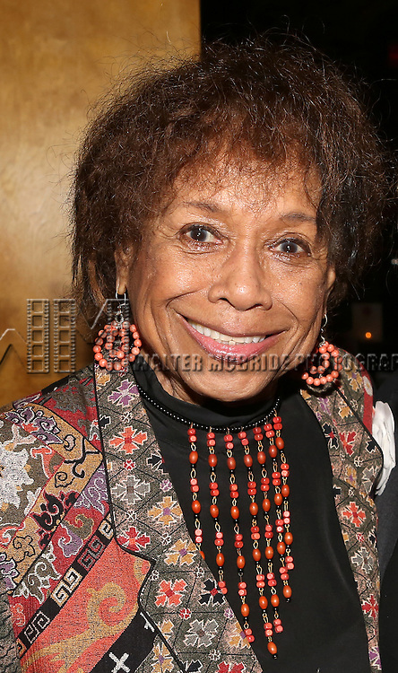 Micki Grant backstage at The Lilly Awards Broadway Cabaret'   at The Cutting Room on November 9, 2015 in New York City.