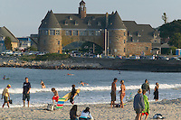 Summer on Narragansett Beach, Rhode Island