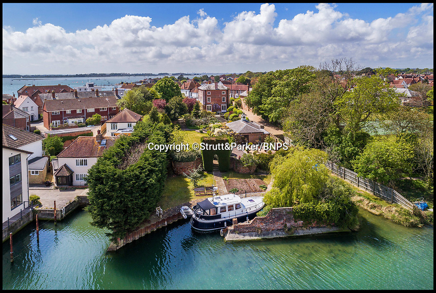 BNPS.co.uk (01202 558833)<br /> Pic: Strutt&amp;Parker/BNPS<br /> <br /> Hello Sailor? - The perfect seaside residence for a lover of the sea.<br /> <br /> A luxury harbourside home with its own private dock in the back garden has launched on to the market - but you'll need a pirates treasure to afford it.<br /> <br /> &pound;3.4million Wharf House is located in one of the country's best sailing communities in Emsworth, Hants, and is surrounded by water.<br /> <br /> From the front it has spectacular views over Chichester Harbour and at the back there is a mooring space for a large boat.