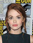 Holland Roden arriving at the Teen Wolf Panel at Comic-Con 2014  at the Hilton Bayfront Hotel in San Diego, Ca. July 25, 2014.