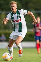 HAREN - Voetbal, FC Groningen - SM Caen, voorbereiding seizoen 2018-2019, 04-08-2018, FC Groningen speler Tom van Weert