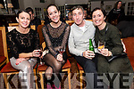 Nicky Hughes, Zoe Collie, Paul McMahon and Claire Hendrick enjoying Other Voices in Dingle over the weekend.