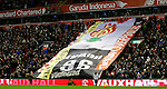 A giant Hillsborough anniversary banner- English Premier League - Liverpool vs Manchester City - Anfield Stadium - Liverpool - England - 3rd March 2016 - Picture Simon Bellis/Sportimage