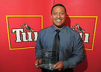 Representative coach of the year Earl Va'a at the Wellington Rugby Union Tui Awards at the Embassy Theatre, Wellington, New Zealand on Tuesday, 30 October 2012. Photo: Dave Lintott / lintottphoto.co.nz