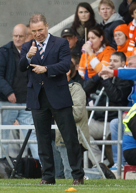Thumbs up from Ally McCoist