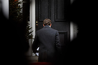 PrimeMinister Trudeau speaks with media outside of Rideau Cottage during his ongoing self-isolation. March 23, 2020.