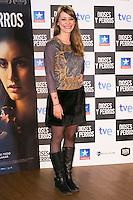 """Miriam Benoit attends the """"DIOSES Y PERROS """" Movie presentation at Kinepolis Cinema in Madrid, Spain. October 6, 2014. (ALTERPHOTOS/Carlos Dafonte) /nortephoto.com"""