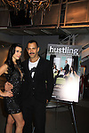 """Castmate Jessica Press poses with Sebastian at a private screening of Sebastian La Cause's web series """"Hustling"""" Season Two - 'cause everybody got a hustle -  was held on November 19, 2012 at TriBeca's Cinemas, New York City, New York. Days of our Lives """"Silvio"""", One Live To Live and All My Children's Sebastian is the creator of Hustling along with being the writer, director and star (Photo by Sue Coflin/Max Photos)"""