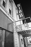 The old Bibb Theater on Third Street in   Macon, Ga. Sept. 3, 2010.
