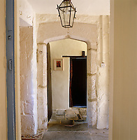 This doorway in the hall is one of many orginal 16th century features in the house