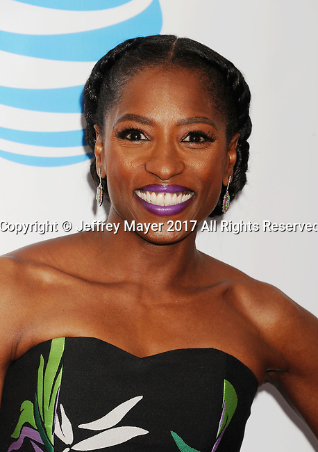 PASADENA, CA - FEBRUARY 11: Actress Rutina Wesley arrives at the 48th NAACP Image Awards at Pasadena Civic Auditorium on February 11, 2017 in Pasadena, California.