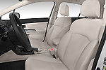 Front seat view of a 2015 Subaru Base Impreza 5 Door Hatchback front seat car photos