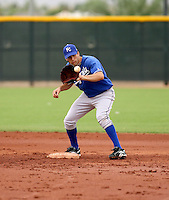 Jeff Bianchi / Kansas City Royals 2008 Instructional League..Photo by:  Bill Mitchell/Four Seam Images