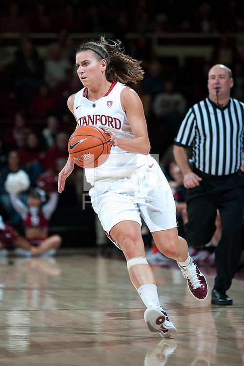 STANFORD, CA - JANUARY 6: Jeanette Pohlen at Maples Pavilion, January 6, 2011 in Stanford, California.