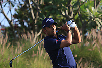 Pablo Larrazabal (ESP) in action on the 16th during Round 1 of the Hero Indian Open at the DLF Golf and Country Club on Thursday 8th March 2018.<br /> Picture:  Thos Caffrey / www.golffile.ie<br /> <br /> All photo usage must carry mandatory copyright credit (&copy; Golffile | Thos Caffrey)